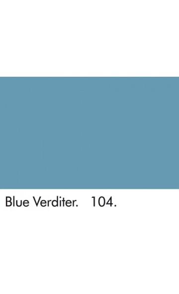 MĖLYNAS VERDITERIS 104 - BLUE VERDITER 104