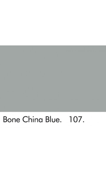 KINŲ MĖLYNAI PILKA 107 - BONE CHINA BLUE 107