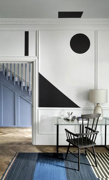 Dažų ir tapetų interjero galerija