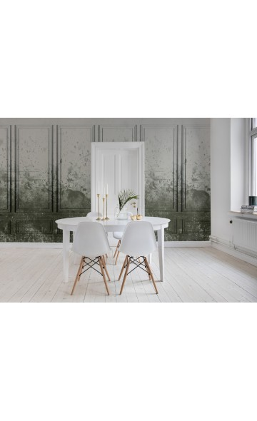 Patinated Panels, Moss R15382