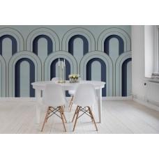 Arch Deco, Blue R16102