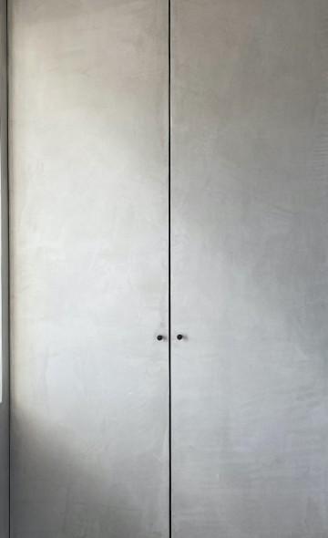 Dažų tinko interjero galerija